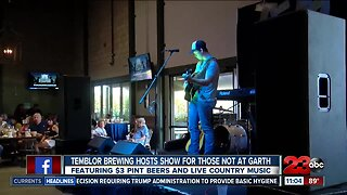 Temblor Brewing Company country concert