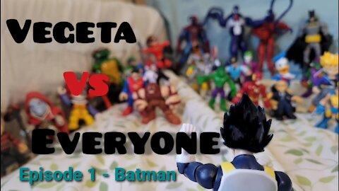 Vegeta Vs Everyone Episode 1 - Batman