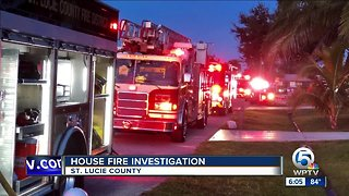 House fire investigated in St. Lucie County