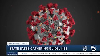 California health officials ease limits on private gatherings