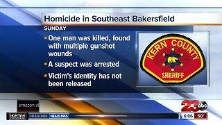 One man killed in shooting in Southeast Bakersfield