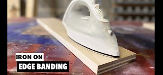 How to apply edge banding