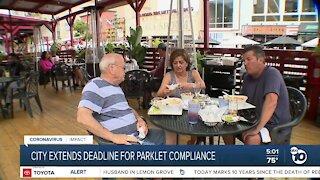 San Diego extends deadline for parklet compliance