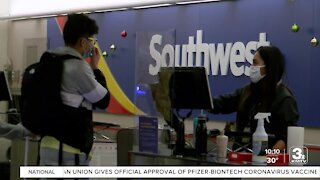 Eppley seeing holiday travel uptick, shares tips for passengers