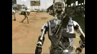 Future Army Robot Warrior