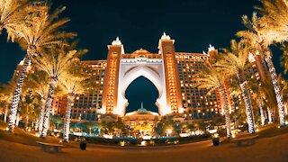 Dubai-The most luxurious city stunning night view