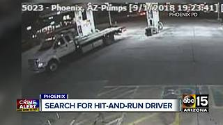 Driver sought after deadly hit-and-run Saturday evening in Phoenix