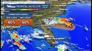 Tropical development possible near South Carolina-Georgia coast