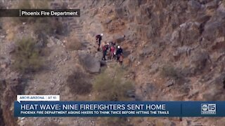 Phoenix firefighters ask hikers to think twice before hitting trails