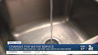 Baltimore City makes changes to water service