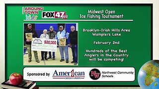 Around Town Kids - Midwest Open Ice Fishing Tournament - 1/30/20