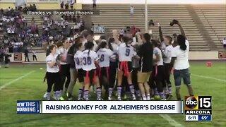 Raising money for Alzheimer's disease