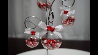A Peppermint Christmas - Miniature Ornaments