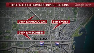 3 killed, 2 injured in Milwaukee shootings Friday evening: Police