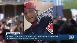 Family of Dion Johnson demands answers