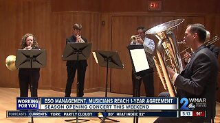 BSO management, musicians reach 1-year agreement