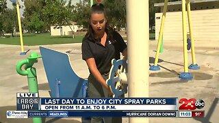 Spray Park Extended Hours