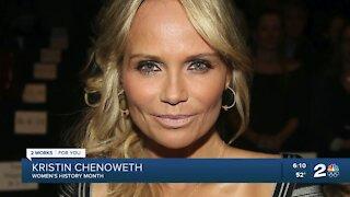 Women's History Month: Broken Arrow native Kristin Chenoweth