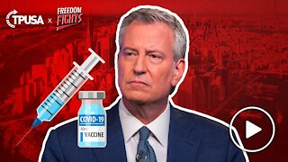 Bill de Blasio: Forced Vaccinations Is The Only Way Forward