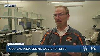 OSU Lab Processing COVID-19 Tests