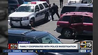 Family calls for police termination, cooperating with investigation