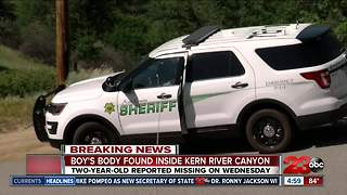 BPD finds body of two-year-old in Kern River Canyon