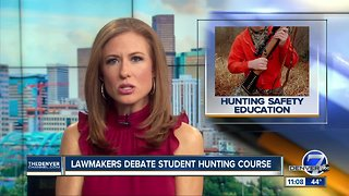 Colorado bill under consideration would require most 7th-graders to take hunter safety course