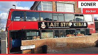 London's latest kebab restaurant has opened - on board a double decker bus