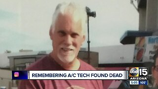 Community steps in to help after air conditioning technician found dead attic