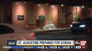 St. Augustine prepared for Dorian