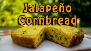 Dutch Oven Jalapeño Cornbread
