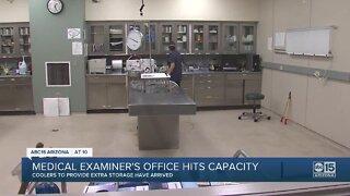 Medical Examiner's Office hits capacity