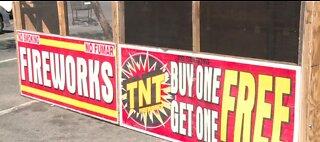 Safe-N-Sane fireworks go on sale today