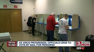 Omaha officials urge people to vote by mail for primaries