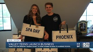 Scottsdale teens start tote company & hope to empower women in India