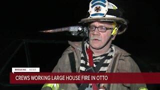Fire chief describes heartbreaking scene in Otto fire