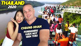 Chiang Khan Thailand Travel, Skywalk and Market 2020