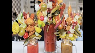 BLOODY MARY BAR! Build Your Own Bloody Mary with ravioli, meatballs and chicken wings at Hash Kitchen - ABC15 Digital