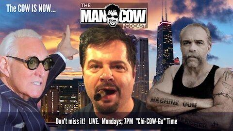 The Machine Gun Preacher and Roger Stone