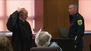 New Green Bay police chief emphasizes community policing and gun violence after swear-in ceremony