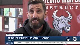 Ramona teacher earns national honor