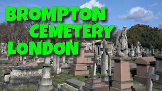 BROMPTON CEMETERY - DAY 94 - LONDON, ENGLAND - 22ND JUNE 2020