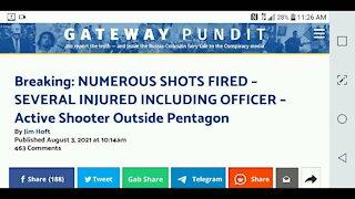 Shooting Outside the Pentagon...