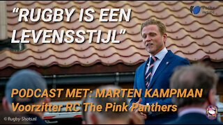 Voorzitter Marten Kampman over zijn club RC The Pink Panthers - Rugby Inside Podcast #4