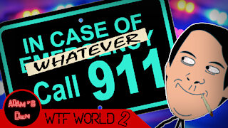911 Calls You'll Never Forget! Probably...   WTF World