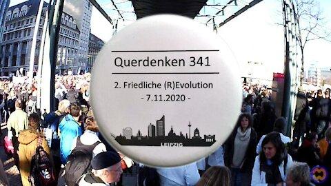 LEIPZIG - VERSAMMLUNG 07.11.2020, (Impressionen & Stimmungen). Querdenken 341.