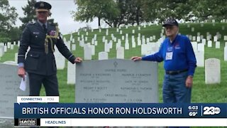 Ronald Holdsworth, RAF veteran and Bakersfield resident, honored in special ceremony