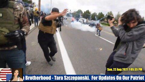 ANTIFA Attacks Protesters In Portland - PART 1
