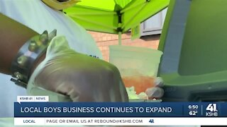 Local boy's business continues to expand