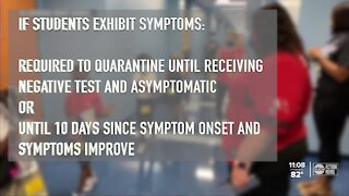 New Florida DOH rule allows kids exposed to COVID-19 to return to school if asymptomatic